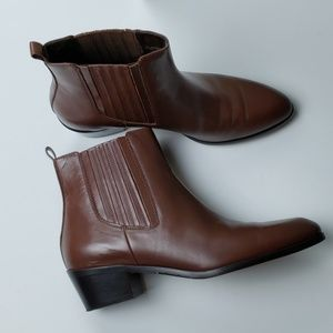 J. Crew Shoes - J.Crew Chelsea leather ankle boots